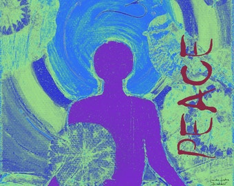 Yoga Asana Poster, Yoga Inspiration