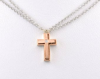 Unique cross pendant featuring 2 wearable items.