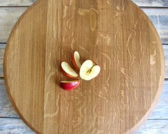 Wine Barrel Lazy Susan - Wooden Lazy Susan - Gifts For Inlaws - Second Marriage - Wine Barrel Top - Gift For Wedding Couple