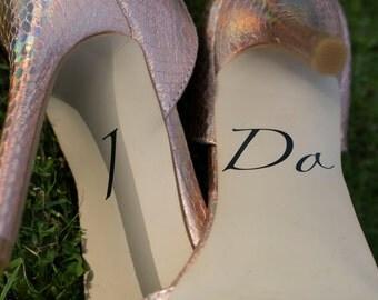I do wedding shoe decals - style 2