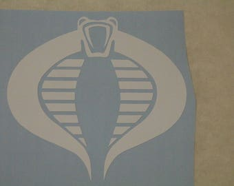 Cobra Decal Any Size Any Colors