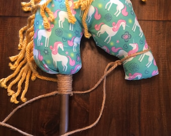 Hobby Horse Ride-On Toy, Stick Horse, Western Party Favors, Cowboy Horse, Stick Pony, Hobby Horse