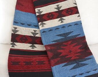 Throw Blanket 160cm x 130cm Indian Chenille 100% Cotton Soft