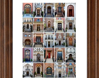 "18""x24"" Doors of Boston Poster"