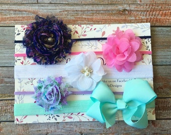 Baby Headbands/Baby Headband Set of 3/Baby Headbands/Newborn Headbands/Toddler Headbands/Baby Girl Headbands/Girls Headbands/Infant Headband
