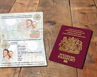 passport wedding invitations | etsy ie, Wedding invitations
