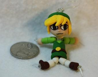 Toon Link Bead-Doll (polymer clay)