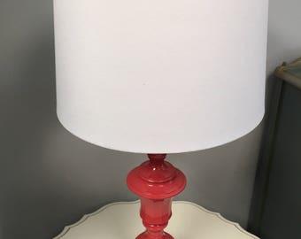 Angel Hair Coral Lamp