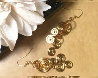 Tribal Bendable Wire Earrings