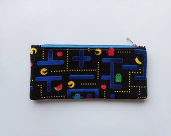 Pencil Case,Pencil Pouch,Zipper Pouch,teacher gift,Small pouch, College, Kids, School Supplies,School supplies bag,make up bag