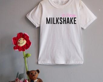Ice Cream Milkshake Children's Tee
