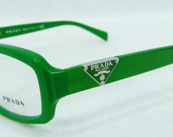 New Authentic PRADA Milano  VPR 10N DAJ 101 Green Designer Eyewear Frames