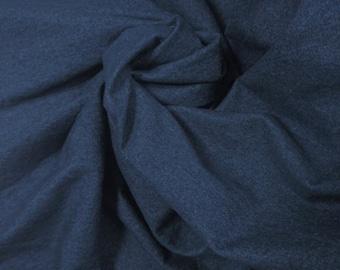 Dark Blue Washed Denim 8 oz.