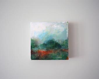 FOLD  abstract landscape art, acrylic landscape, art, abstract landscape, contemporary landscape, painting, landscape, abstract art,