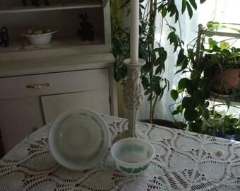 Hazel Atlas Iny Bowls Set of 2
