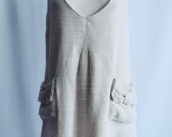 'Pichi' Beige dress with ties