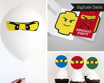 Ninjago decorations  Etsy