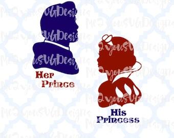 Snow White and Prince Charming SVG,EPS,PNG,Studio