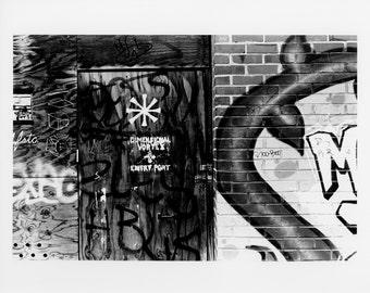 Fine Art Photography Urban Graffiti Washington DC