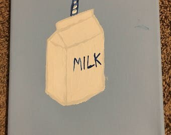 Milk Carton Painting