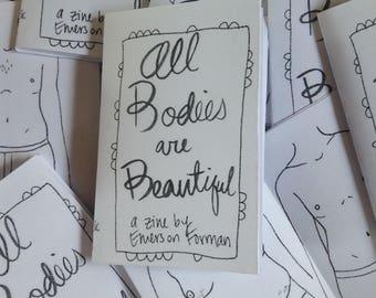 ART ZINE: All Bodies are Beautiful