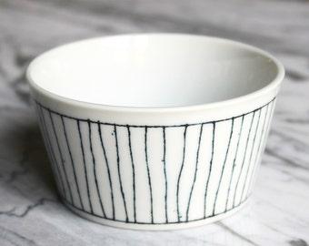 Cup, Bowl, pattern stripe