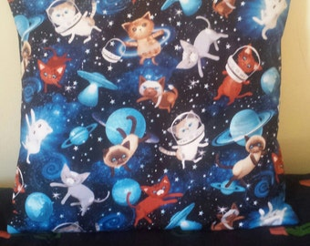 Space Kitty Cushion Cover