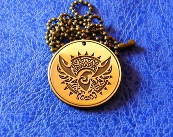 Sun Phoenix Amulet