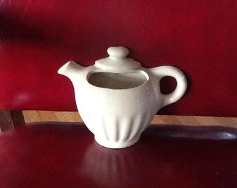 Vintage Pottery Teapot Wall Pocket