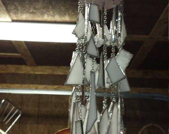Handmade hanging votive holder