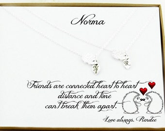 Best friend necklace for 2 Best friend Gifts for Best friend gifts Friendship Gifts for friend Best friend birthday Long distance friend