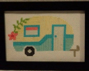 Cute Camper Cross Stitch