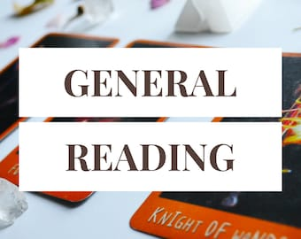 General Reading -- 3 Card Tarot Reading + 1 Follow-Up Card -- Photo of Spread Included