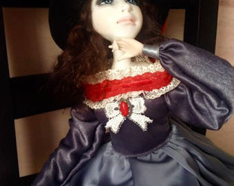 Collectible doll Christine