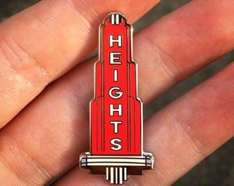 Heights Theater Sign Houston Texas