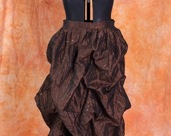 Steampunk Gothic Ball Bustle Skirt Custom Sized