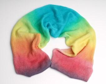 hand dyed yarn 100g sock blank 'Good Vibrations' superwash /merino wool /hand dyed yarn / indie dyer /sock yarn / crochet / knitting