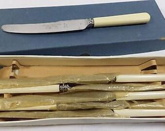 Vintage Set of 6 Knives - Maurice Stables Ltd