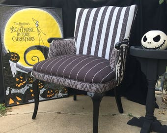 Jack Skellington chair