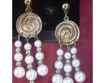 Earrings fashion beads