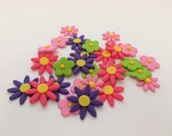 Fondant Flowers  Set of 30