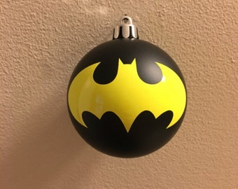 Batman ornament shatterproof
