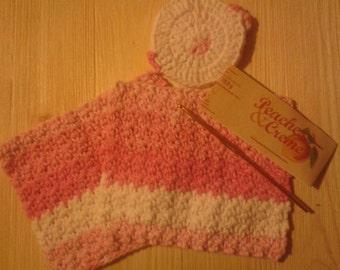 Crochet washcloths set of 2