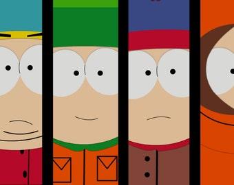 South Park original artwork