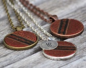 Real Basketball Pendant Necklace • Custom Length • basketball mom • personalized • sports mom gift • basketball jewelry • basketball girl