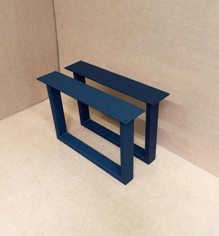 u shaped bench steel legs set of 2 steel bench legs. Black Bedroom Furniture Sets. Home Design Ideas