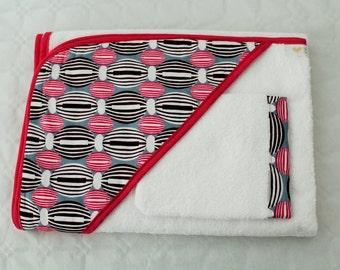 Fabric FLUFFY Bath set African wax