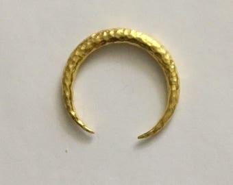 18 carat gold plate charm