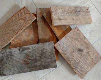 Reclaimed barn wood planks - 1x10 barnwood - blank wood signs