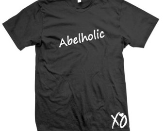 The Weeknd T-Shirts, Custom Weeknd Shirts, Abelholic, The Weeknd Clothing, XO, Weeknd Fan Gear, XO tshirts, New music,